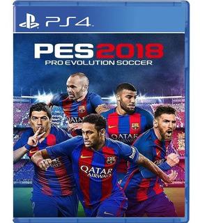 Pes 2018 Pro Evolution Soccer 18 Sellado Y Nuevo Ps4 Fisico