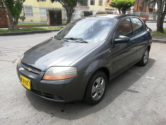 Chevrolet Aveo Ls Mt1600cc Gris Galapago Aa Ab