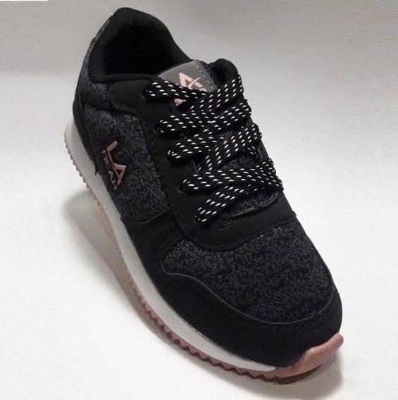 Zapatillas La Gear Collins Kids Niñas Lak05695 Locos X Vos