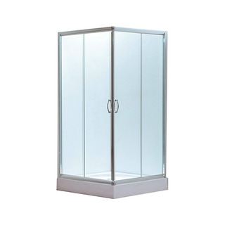 Tecnofusión Cabina De Ducha Vidrio Esmerilado 90x90x180