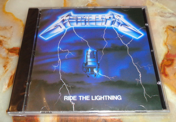 Metallica - Ride The Lightning - Cd Nuevo Cerrado