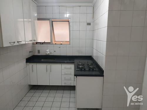 Imagem 1 de 10 de Ref.: 2445 - Apartamento Com Condomínio,  02 Quartos, 01 Vaga De Garagem Na Vila Alzira, Santo André - 2445