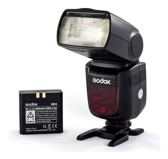 Flash Godox V860ii F Ttl Bateria E Carregador Para Fujifilm