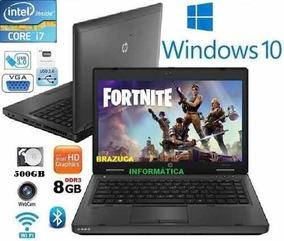 Notebook Hp Probook Core I7 Ram 4gb Hd 500gb Queima Estoque