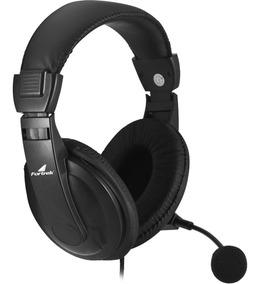 Fone Headset Microfone Pc Notebook Gamer Fortrek + Nf