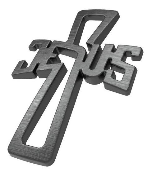 Lembrancinhas Para Batizado - Nome Jesus Formato Cruz 15 Und