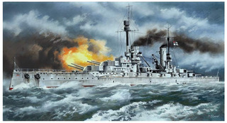 Icm 1/350 Clone Dreadnought Alemán Prinz Modelo De Plástic