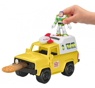 Disney Imaginext Toy Story Buzz Lightyear Aliens Camioneta!!