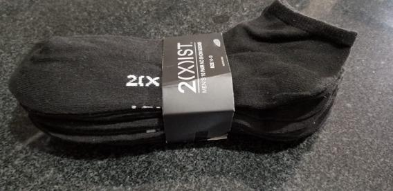 Tin Corto Unixes 10 Pares Color Negro 2(x)ist