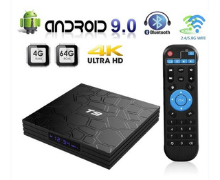 Tv Box T9 Full Hd 4gb Ram + 64gb Rom Android Potente