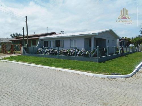 Vendo Casa Térrea, De Esquina, Praia De Imbé Rs - Ca0593