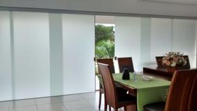 Adesivo Blackout Branco Leitoso Whiteout Box Vidros 200x75cm