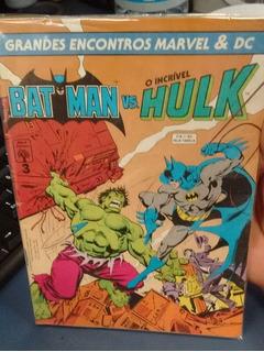 Batman Vs Hulk - 100% Original Grandes Encontros Marvel Dc