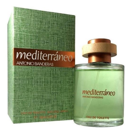 Perfume Antonio Banderas Mediterraneo Masc 100ml Oficial