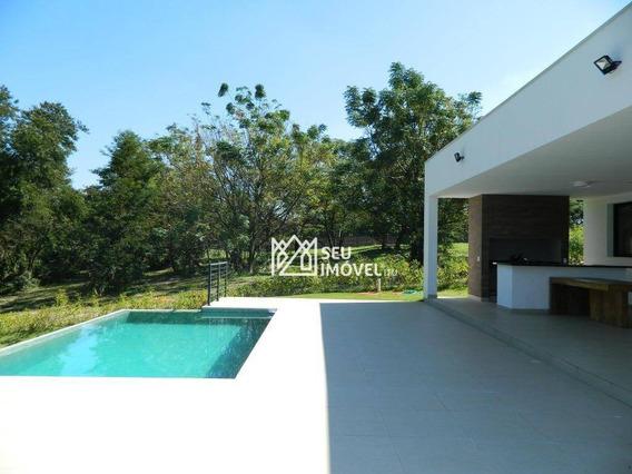 Casa Com 3 Dormitórios À Venda, 350 M² Por R$ 2.300.000 - Fazenda Vila Real De Itu - Itu/sp - Ca1866