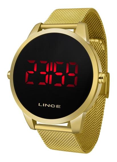 Relógio Lince Mdg4586l Pxkx Dourado Original Com Nota Fiscal