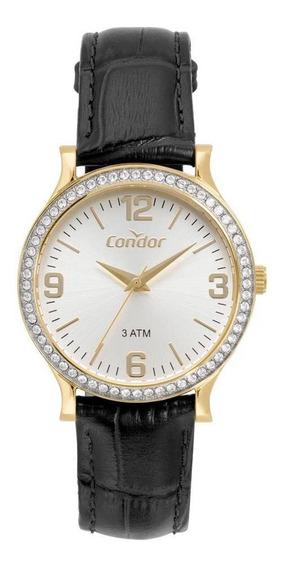 Relógio Condor Bracelete Feminino Dourado Co2039bm/2d