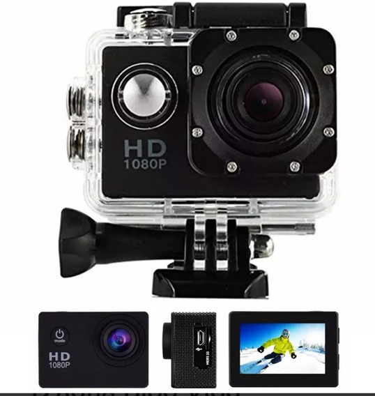 Camera Gopro Sports Hd Dv 1080p