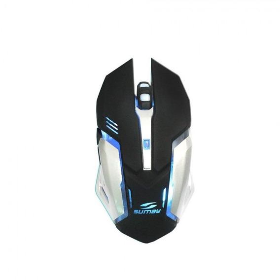 Mouse Gamer - Sumay - 3200dpi - Preto