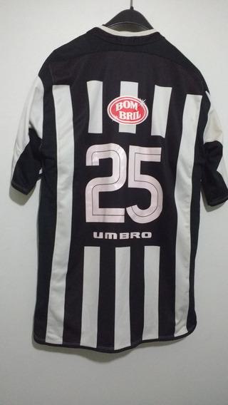 Camisa Do Santos Anos 01/03. N#25 De Jogo!