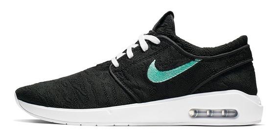 Tênis Nike Sb Stefan Janoski Max L Black / White