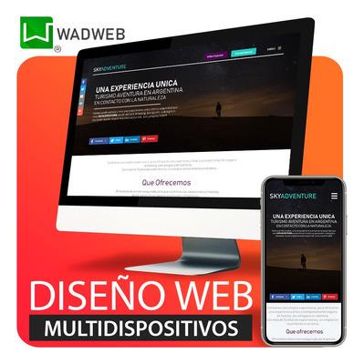 Páginas Web $3650 Diseño Web En 3 Días! Diseño Gráfico