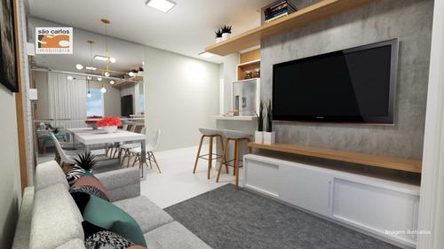 Apartamento A Venda No Bairro Tindiquera Em Araucária - Pr.  - 1577-1