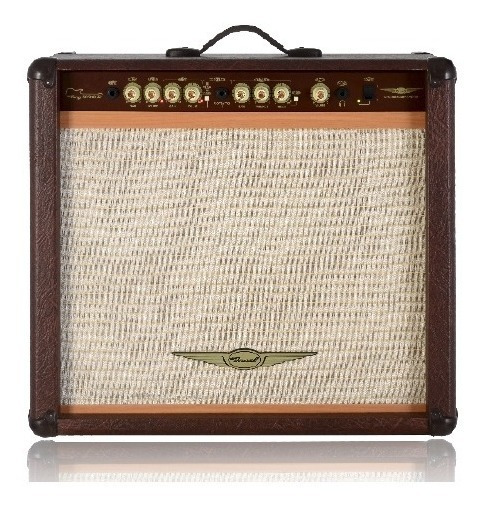 Cubo Para Guitarra Oneal Ocg 400r Mr 90w Rms - Marrom - C/foot