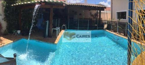 Casa Com 4 Dormitórios À Venda, 340 M² Por R$ 1.000.000,00 - Jardim Santa Genebra - Campinas/sp - Ca3166