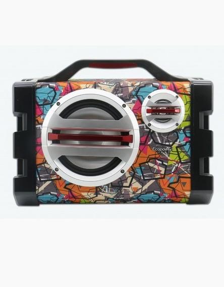 Speakerecopowerep-2262 - Bluetooth Multicolorido Envio Já