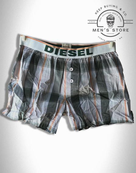 Cueca Underwear Samba-canção Xadrez Diesel Europa