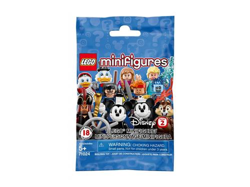 Imagem 1 de 3 de Brinquedo Lego Mini Figuras Surpresa Disney Serie 2 71024