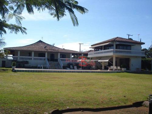 Imagem 1 de 9 de Chácara Com 4 Dormitórios À Venda, 4375 M² Por R$ 850.000 - Portal São Marcelo - Bragança Paulista/sp - Ch0343
