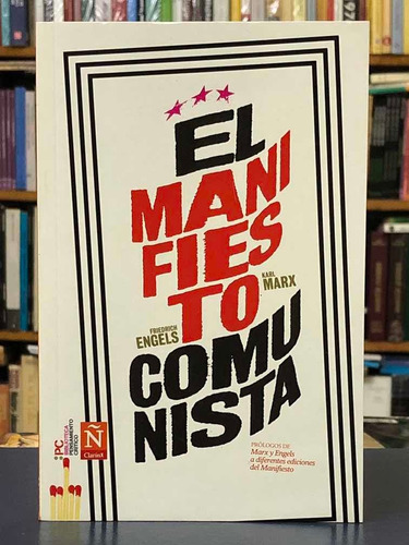 El Manifiesto Comunista - Engels Y Marx - Bpc