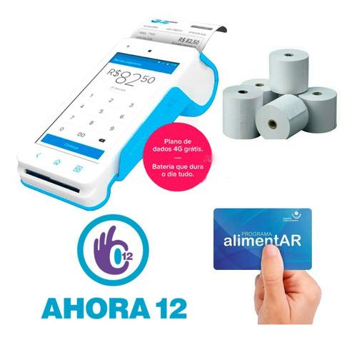 Imagen 1 de 9 de Mercadopago Point Smart 4g Nuevo Posnet Qr Tactil Oferta Ya!