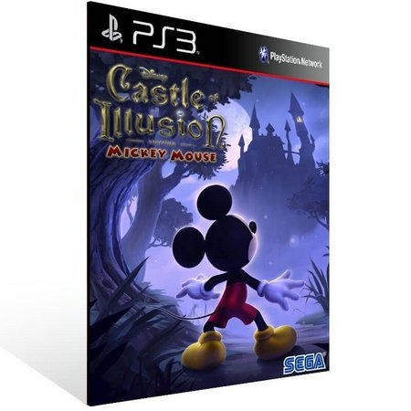 Castle Of Illusion Starring Mickey Mouse - Ps3 - Promoção !!