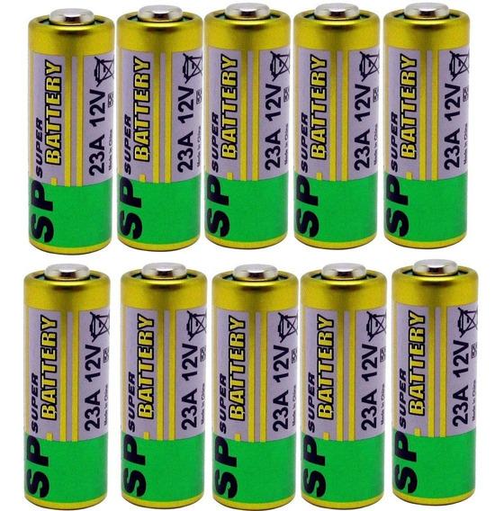 Bateria 12v 23a Cartela C/ 10 Pilhas Alta Durabilidade