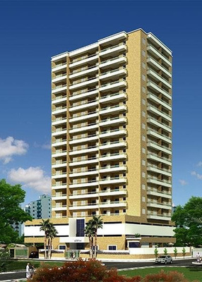 Apartamento Em Vila Tupi, Praia Grande/sp De 104m² 3 Quartos À Venda Por R$ 410.000,00 - Ap204787