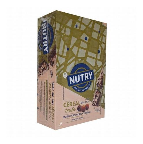 Imagem 1 de 1 de Nutry Barra De Cereal Trufa C/24