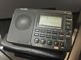 Rádio Retekess V-115 Am/fm/sw Mp3 Play Display Lcd C/bateria