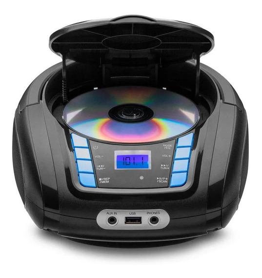 Radio Portatil Micro System Bluetooth/usb/cd/radio/fm Bivolt