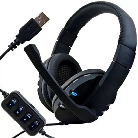 Fone Ouvido Gamer Headset Leds Rgb Muda Cor Gamer Ps3 Ps4 Pc
