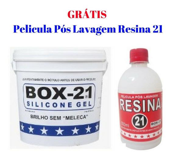 Silicone Automotivo Galão 3.2 Box21 Original + Brinde Resina