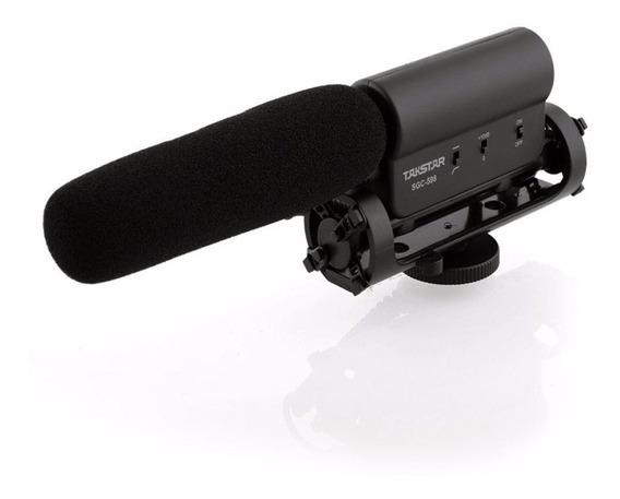 Microfone Profissional Takstar Sgc-598 Dslr P2 Canon Nikon
