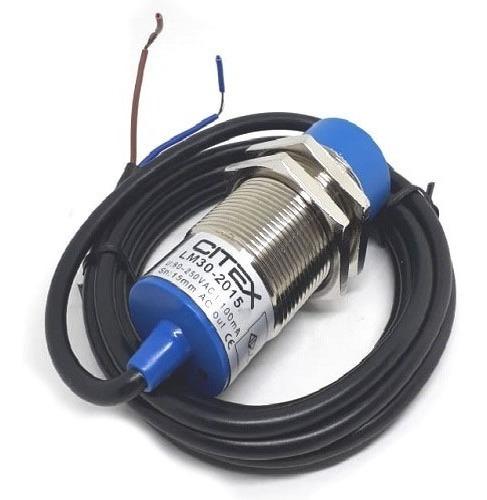 Lm30-2015b Sensor Indutivo Não Faceado 90~250v Nf