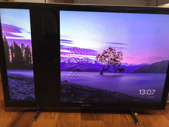 Tv Sony Bravia 32 Kdl-32ex655 Com Defeito Na Tela