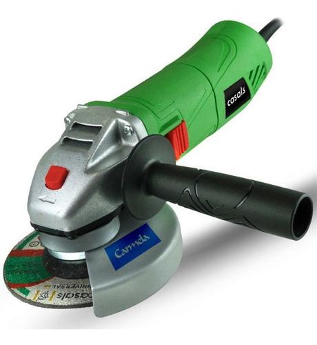 Amoladora Angular 710w Casals 115mm 11000 Rpm Super Práctica