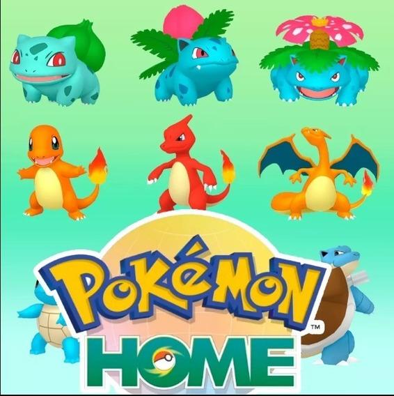 Pokemon Home - 941 Pokemon (switch) (dex 807+100 Brindes)