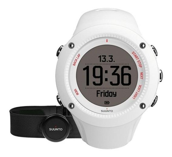 Reloj Multifuncional Deportivo Ambit3 Run Blanco Suunto