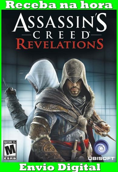 Assassins Creed Revelations Pc Frete Gratis Envio Imediato!